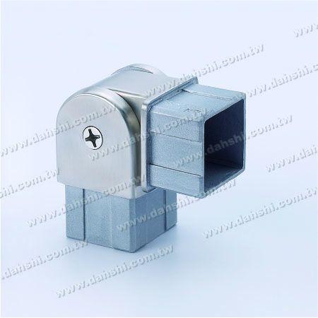 不鏽鋼方管套外活動彎頭 - 不鏽鋼方管套外活動彎頭