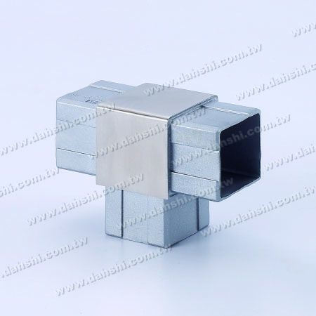 S.S. Square Tube Internal T Connector - Stainless Steel Square Tube Internal T Connector