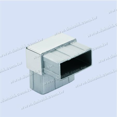 S.S. Rectangle Tube Internal 90° Connector - Stainless Steel Rectangle Tube Internal 90degree Connector