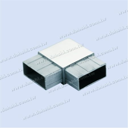 S.S. Rectangle Tube Internal 90° Connector Square Corner - Stainless Steel Rectangle Tube Internal 90degree Connector Square Corner