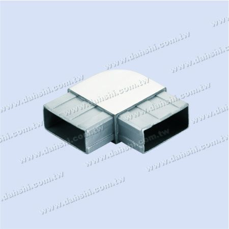 S.S. Rectangle Tube Internal 90° Connector Round Corner - Stainless Steel Rectangle Tube Internal 90degree Connector Round Corner