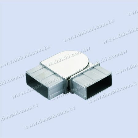 不銹鋼扁管(長方型管)套外90度彎頭 - 不銹鋼扁管(長方型管)套外90度彎頭