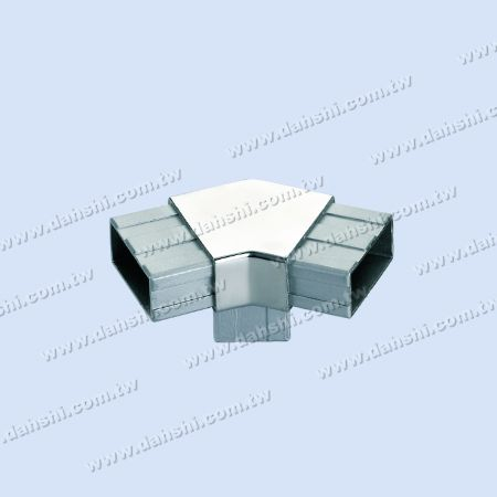 S.S. Rectangle Tube Internal 135° T Conn. Angle Fixed - Stainless Steel Rectangle Tube Internal 135degree T connector Angle Fixed