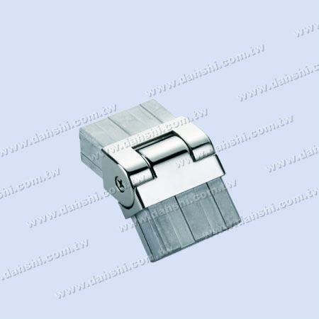 S.S. Rectangle Tube Internal Elbow Angle Adj. - Stainless Steel Rectangle Tube Internal Elbow Angle Adjustable