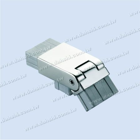 S.S. Rectangle Tube Corner Conn. 3 Way Out Angle Adj. - Stainless Steel Rectangle Tube Internal Stair Corner Connector 3 Way Out Angle Adjustable