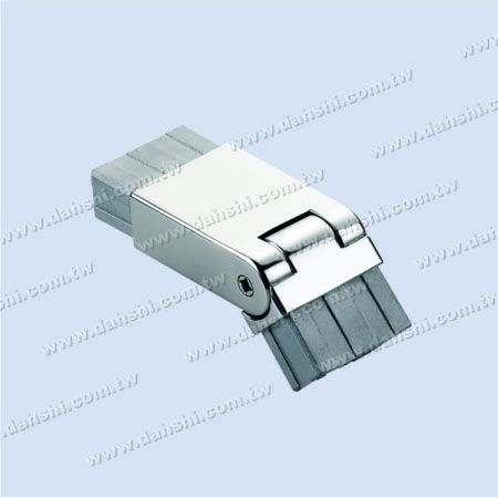 S.S. Rectangle Tube Internal Extra Length Elbow Angle Adj. - Stainless Steel Rectangle Tube Internal Extra Length Elbow Angle Adjustable