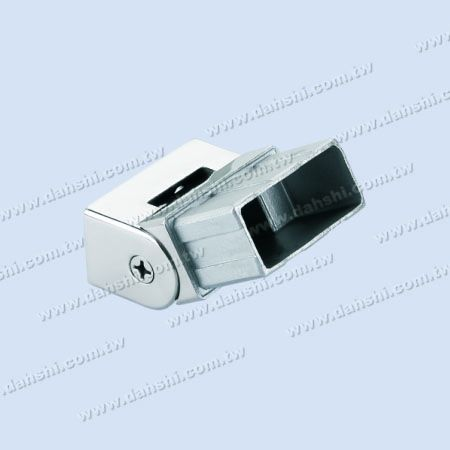 S.S. Rectangle Tube Handrail End Angle Adj. - Stainless Steel Rectangle Tube Handrail End Angle Adjustalbe