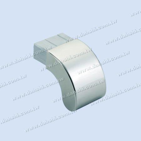 不銹鋼90度扁管扶手護蓋 - 不銹鋼90度扁管扶手護蓋