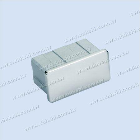 SS長方形チューブフラットトップエンドキャップ - ステンレス鋼長方形管フラットトップエンドキャップ