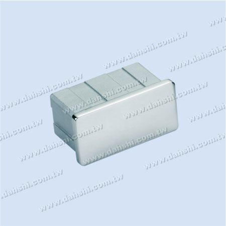Stainless Steel Rectangle Tube Flat Top End Cap - Stainless Steel Rectangle Tube Flat Top End Cap