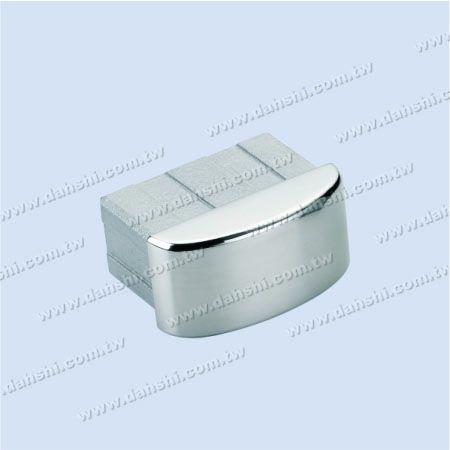 SS長方形チューブカーブトップエンドキャップ - ステンレス鋼長方形チューブ曲線トップエンドキャップ