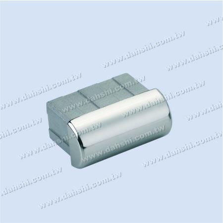 SS長方形チューブドームトップエンドキャップ - ステンレス鋼長方形チューブドームトップエンドキャップ