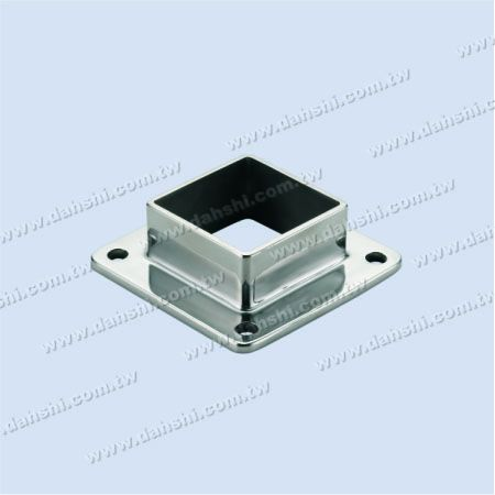Stainless Steel Square Post Base - Screw Expose - Stainless Steel Square Post Base - Screw Expose