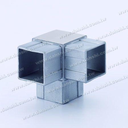 ท่อสี่เหลี่ยม SS ภายใน 90 ° T คอนเนค - สแตนเลสสตีลสแควร์ท่อภายใน 90 องศา T เชื่อมต่อ