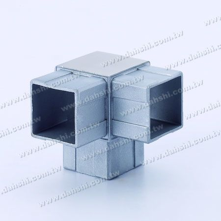 S.S. Square Tube Internal 90° T Conn. - Stainless Steel Square Tube Internal 90degree T Connector
