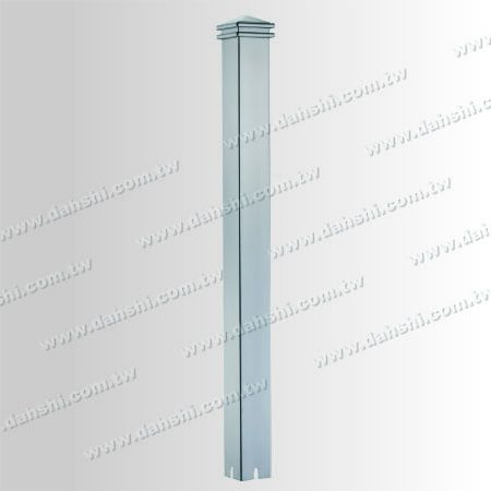Stainless Steel Square Post Head 2 Layers - Stainless Steel Square Post Head 2 Layers