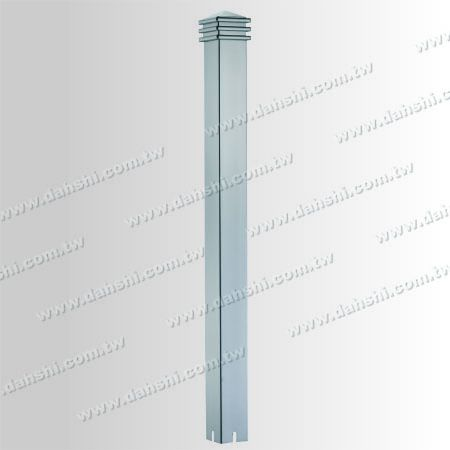 Stainless Steel Square Post Head 3 Layers - Stainless Steel Square Post Head 3 Layers