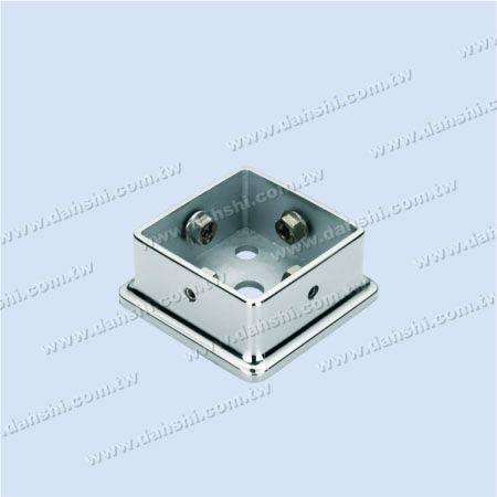 不銹鋼方形大柱底座 -  螺釘隱藏式 - 不銹鋼方形大柱底座 -  螺釘隱藏式