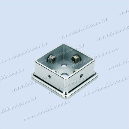 Stainless Steel Square Post Base - Screw Invisible - Stainless Steel Square Post Base - Screw Invisible