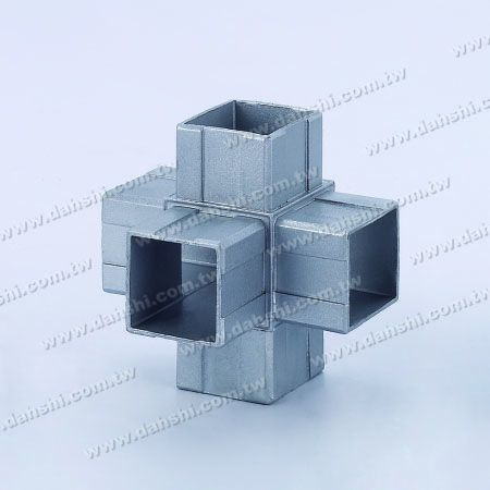 S.S. Square Tube Internal Connector 5 Way Out - Stainless Steel Square Tube Internal Connector 5 Way Out
