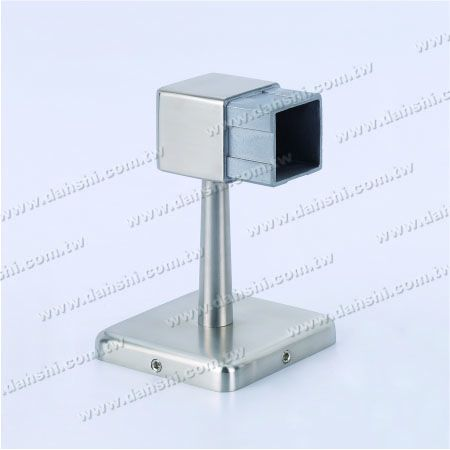 Square Tube Handrail Two Side Wall Bracket - Screw Invisible Bracket - Balcony or Interior Decoration Balustrade Square Tube Handrail Two Side Wall Bracket