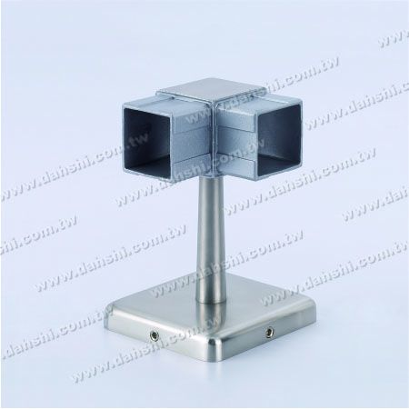 Screw Invisible Bracket - Balcony or Interior Decoration Balustrade Square Tube Handrail Corner Bracket - Screw Invisible Bracket - Balcony or Interior Decoration Balustrade Square Tube Handrail Corner Bracket