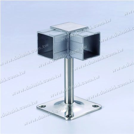 Screw Exposed Bracket - Balcony or Interior Decoration Balustrade Square Tube Handrail Corner Bracket - Screw Exposed Bracket - Balcony or Interior Decoration Balustrade Square Tube Handrail Corner Bracket