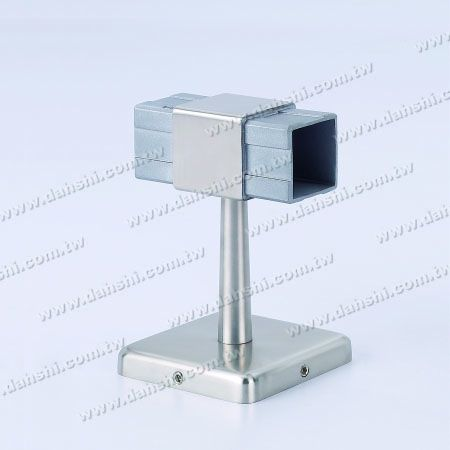 Screw Invisible Bracket - Balcony or Interior Decoration Balustrade Square Tube Handrail 180° Connect Bracket - Screw Invisible Bracket - Balcony or Interior Decoration Balustrade Square Tube Handrail 180° Connect Bracket