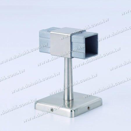 Pegangan Tabung Persegi 180 ° Menghubungkan Braket - Braket Tak Terlihat Sekrup - Balkon atau Dekorasi Interior Balustrade Square Tube Handrail 180 ° Connect Bracket