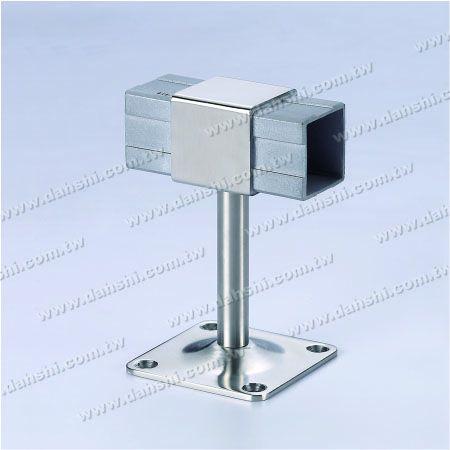 Pegangan Tabung Persegi 180 ° Menghubungkan Braket - Braket Terbuka Sekrup - Balkon atau Dekorasi Interior Balustrade Square Tube Handrail 180 ° Connect Bracket
