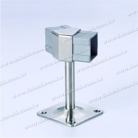 Screw Exposed Bracket - Balcony or Interior Decoration Balustrade Square Tube Handrail 135° Connect Bracket - Screw Exposed Bracket - Balcony or Interior Decoration Balustrade Square Tube Handrail 135° Connect Bracket