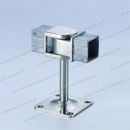 Screw Exposed Bracket - Balcony or Interior Decoration Balustrade Square Tube Handrail Connect Bracket - Angle Adjustable - Screw Exposed Bracket - Balcony or Interior Decoration Balustrade Square Tube Handrail Connect Bracket - Angle Adjustable