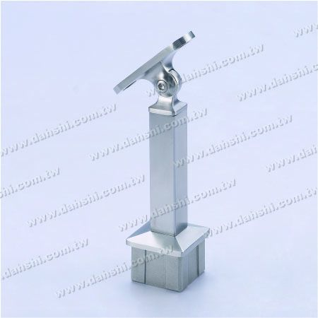 Adjustable Angle Connector Perpendicular Post Support - Stainless Steel Square Tube Handrail Perpendicular Post Support Connector Angle Adjustable