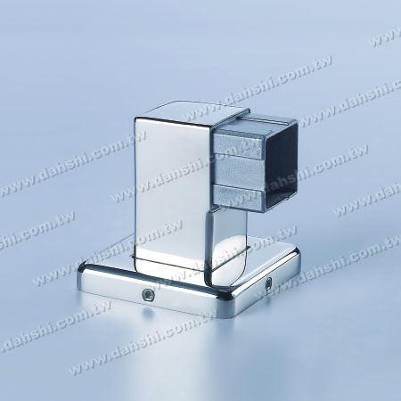 S.S. Square Tube Handrail Support Side End - Stainless Steel Square Tube Handrail Support Side End - Screw Invisible