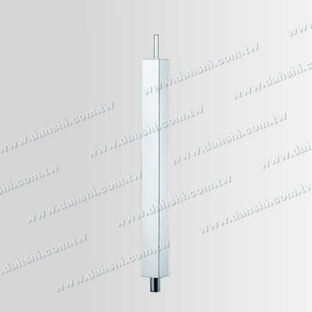 S.S. Square Post Body Plain Surface - Stainless Steel Square Post Body Plain Surface