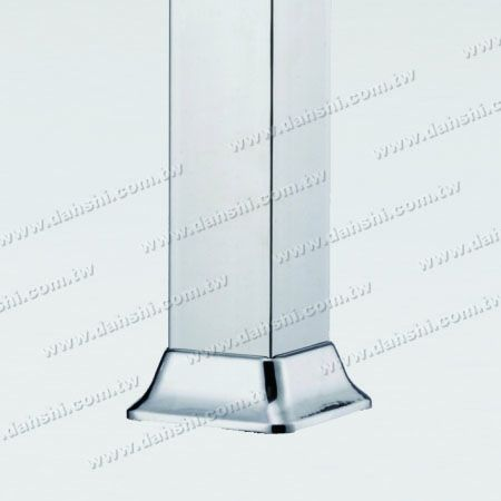 Stainless Steel Square Post Base - Stainless Steel Square Post Base