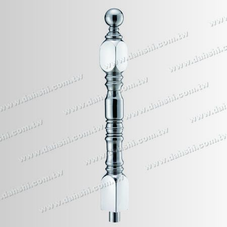 Stainless Steel Square Decorating Post - Stainless Steel Square Decorating Post