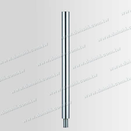 "S.S. Round Post 2 1/2"" Plain Surface - Stainless Steel Round Post 2 1/2"" Plain Surface"