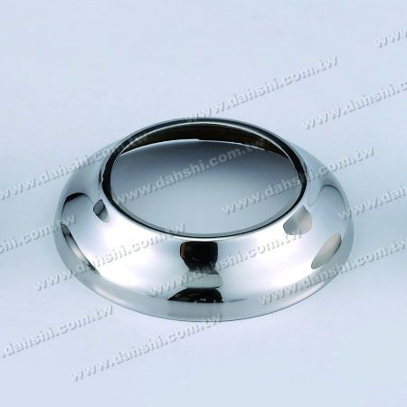 "Stainless Steel Round Base for 2 1/2"" - Stainless Steel Round Base Plate for 2 1/2"""