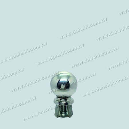 "Stainless Steel 2"" Ball with Cover for 1 1/2"" Pipe - Stainless Steel 2"" Ball with Cover for 1 1/2"" Pipe"