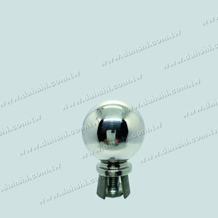 "Stainless Steel 2 1/2"" Ball with Cover for 1 1/2"" Pipe - Stainless Steel 2 1/2"" Ball with Cover for 1 1/2"" Pipe"