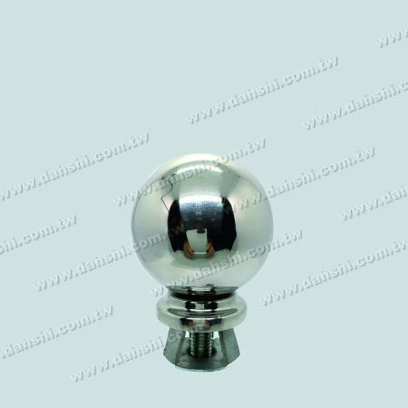 "Stainless Steel 3"" Ball with Cover for 2"" Pipe - Stainless Steel 3"" Ball with Cover for 2"" Pipe"