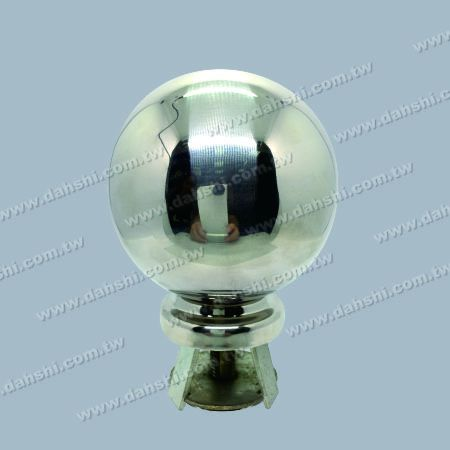 """Stainless Steel 4 1/4"""" Ball with Cover for 2 1/2"""" Pipe - Stainless Steel 4 1/4"""" Ball with Cover for 2 1/2"""" Pipe"""