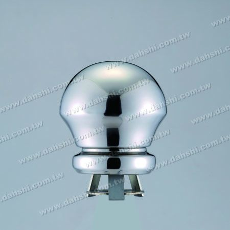 """Mushroom Model 4 1/4"""" x H 4 1/2"""" with Cover for 2 1/2"""" Pipe - Mushroom Model 4 1/4"""" x H 4 1/2"""" with Cover for 2 1/2"""" Pipe"""