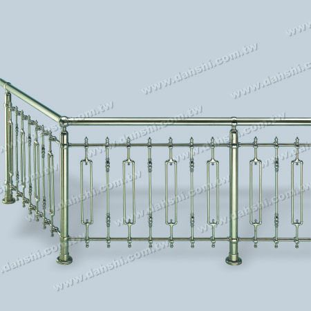 Stainless Steel Decoration for Handrails - Decorated Accessories for Handrails