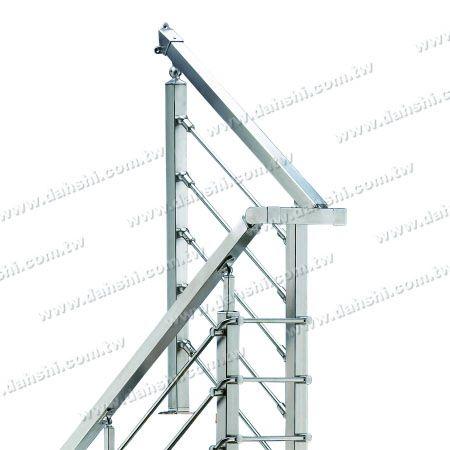 不銹鋼方管用接頭配件 - 不銹鋼方管用接頭配件