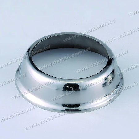 """Post Base - Stainless Steel Round Base Plate for 3"""""""