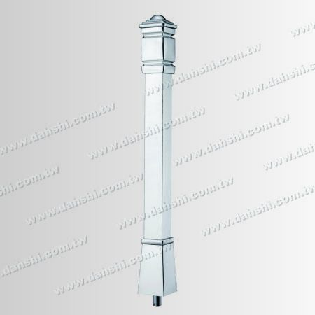 Whole Set Post - Stainless Steel Square Post Plain Surface