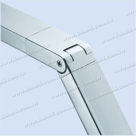 Stainless Steel for Rectangle Tubes - Rectangle Tube Internal Extra Length Elbow Angle Adjustable