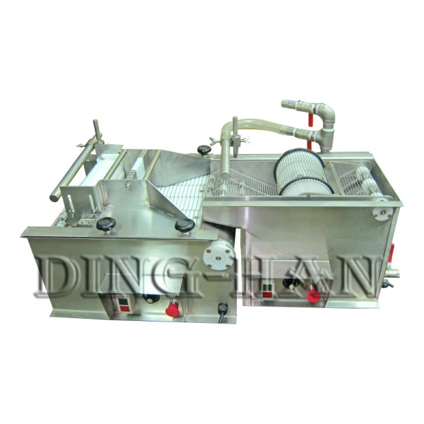 Countertop Battering & Powder Coating Machine